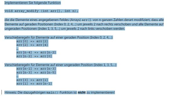 Das Programm - (programmieren, C Programmiersprache)