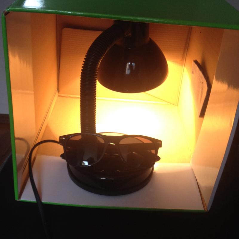 Kann karton brennen mit einer lampe von 40 watt 40w for Lampe mit mehreren schirmen
