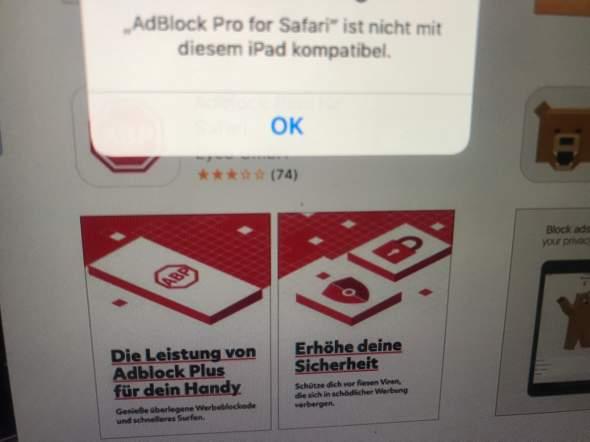 Kann keine apps installieren warum( altes iPad)? (Technik