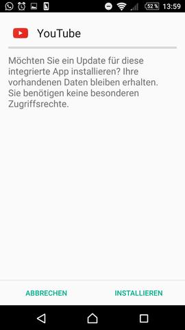 Kann Keine Apps Mehr Installieren Sony Xperia Z5 Android