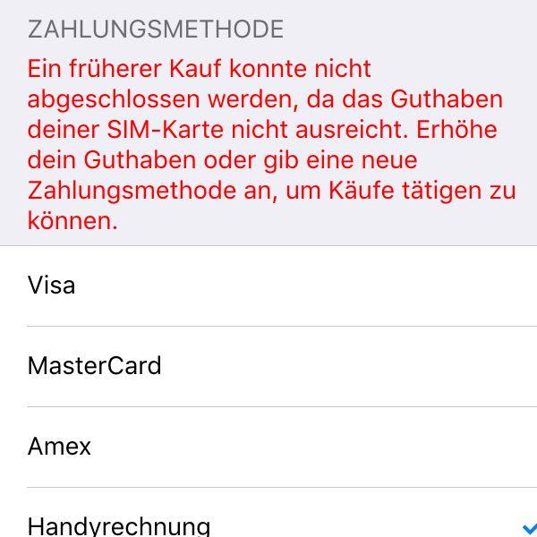 Kann Keine Apps Runterladen