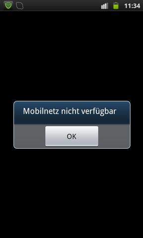 Mobilnetz nicht verfügbar - (Handy, Android, SIM-Karte)