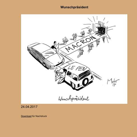 Von Mohr  - (Karikatur, sozi, Macon)
