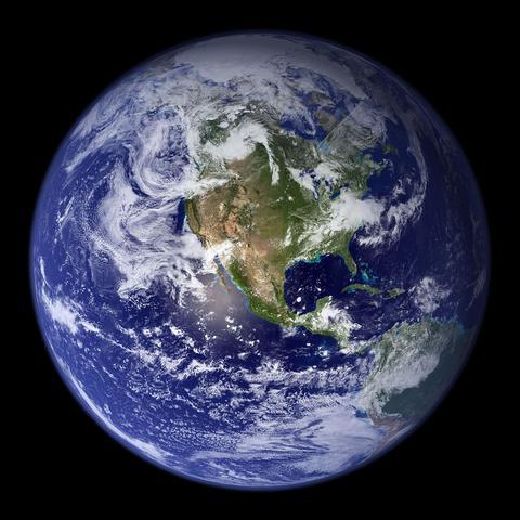 westlicher Halbkugel - (Bilder, Erde, Weltraum)