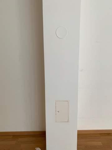 Kann man an dieser Wand/Säule einen TV befestigen?