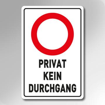 - (Abkürzung, Privatweg)