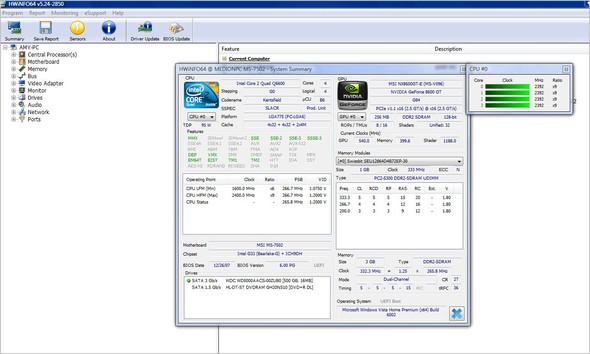 System Summery - (Computer, Festplatte, Windows Vista)
