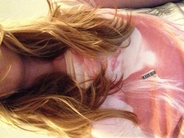 Hatte meine Haare in nem Wuschelzopf, sind sonst noch welliger ;) - (Haare, Shampoo, Locken)