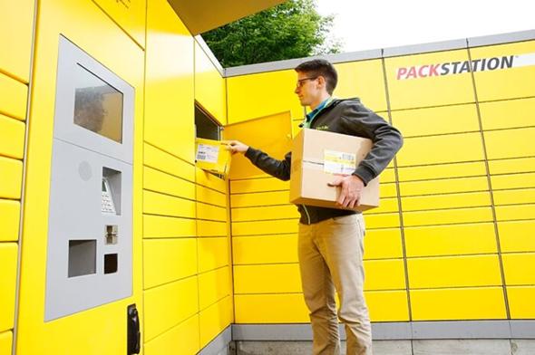 Kann man auch mit der Packstation Pakete senden?