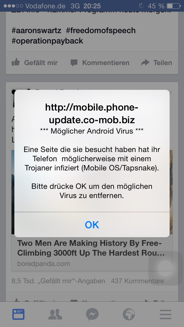 how to find a virus on iphone