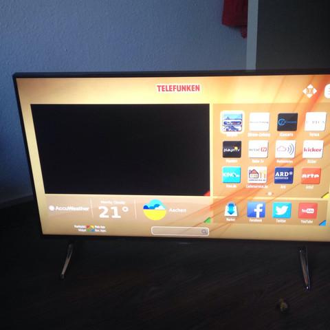 kann man auf einem telefunken smart tv auch amazon prime gucken freizeit fernsehen. Black Bedroom Furniture Sets. Home Design Ideas