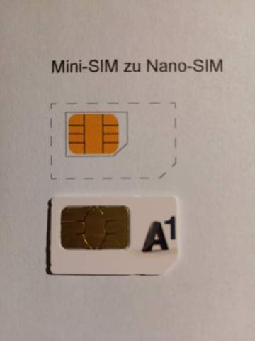 Kann man aus jeder Mini Sim eine Nano Sim zuschneiden?
