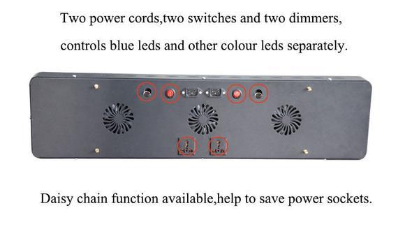 LED Lampe mit 2 Dimmer - (Elektronik, Elektrik, Aquarium)