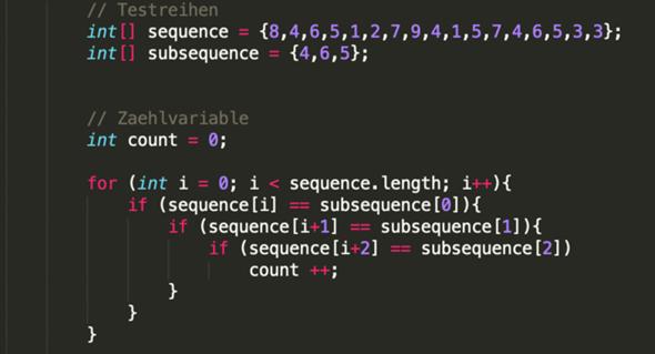 Kann man bei meinem Java Code die if Anweisungen auch als eine weitere for Schleife schreiben?