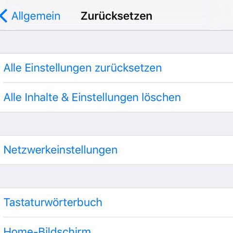 Was muss ich drücken ? - (iPhone, Einstellungen, icloud)