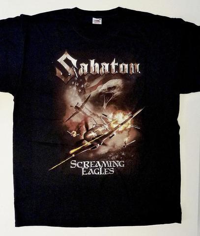Das besagte T-Shirt der Band SABATON - (Musik, Liebe, Auto)