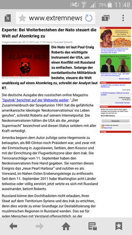 Atomkrieg - (Lüge, ernst)
