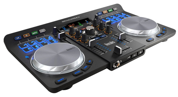 Hercules 4780773 Universal DJ Controller mit 2 Decks - (Musik, Kabel, DJ)