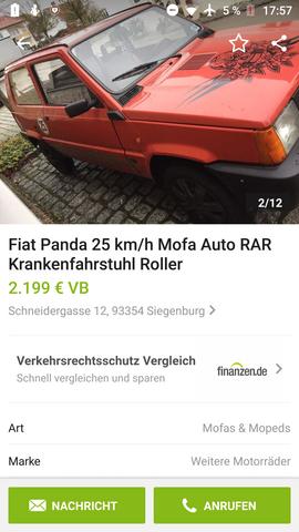 - (Auto, Auto und Motorrad, Mofa)