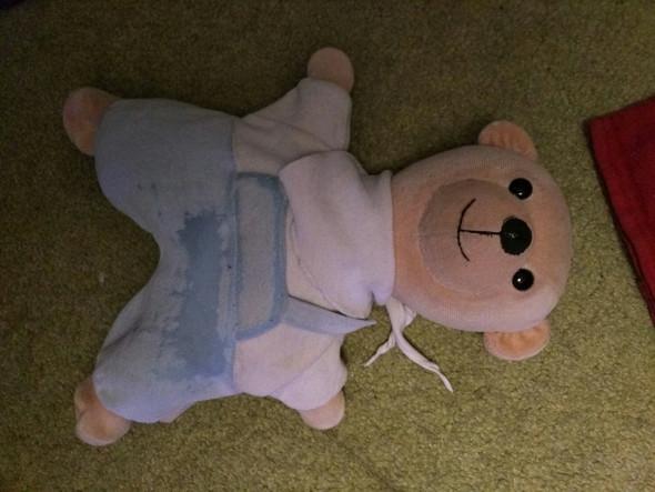 Der Teddy  - (Tiere, nähen, kuscheltier)