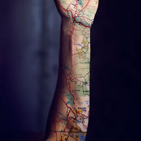 tattoo landkarte Kann man das so tätowieren? (Tattoo, Arm, Landkarte) tattoo landkarte