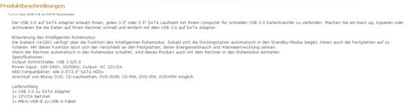 Das Produkt - (Computer, PC, Hardware)