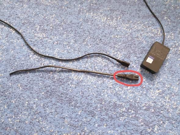 Kann man den Playstation Strom Anstecker mit den von einem Windows Notebook ersetzen?