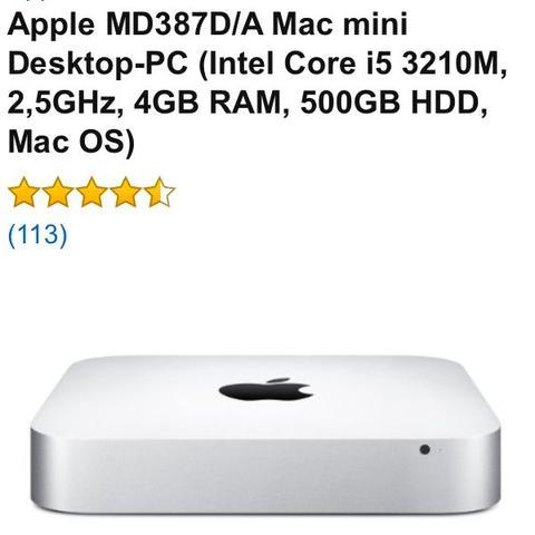 Kann man den Speicher von diesen Mac mini erweitern mit einer externen Festplatte?