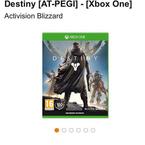 Destiny At Pegi - (Playstation, xbox, destiny)