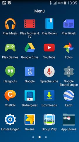 Bei mir - (Samsung, Smartphone, Ordner)