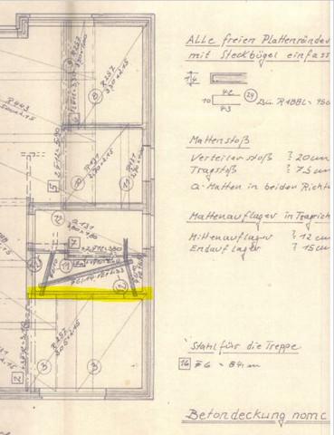 Statikplan 1   (Haus, Architekt, Statik)