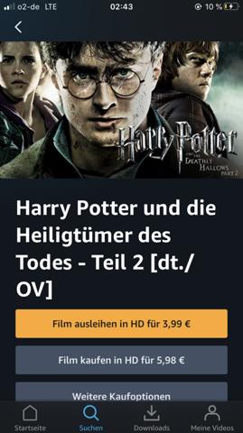 Harry Potter Streamen