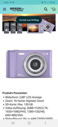Kann man die Kamera direkt benutzen?