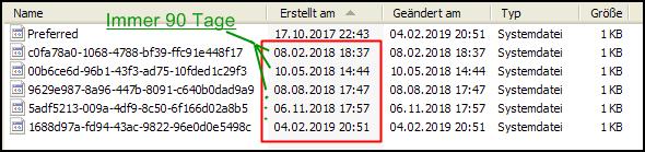 Kann man die kryptischen Dateien in Anwendungsdaten\Microsoft\Protect\ löschen (Windows) 💾?