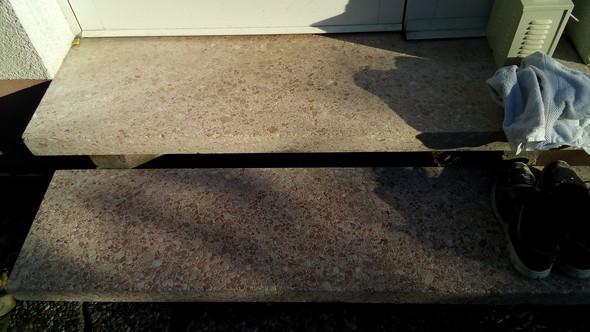 Kann man diese au entreppe streichen farbe renovierung outdoor - Kann man bodenfliesen streichen ...