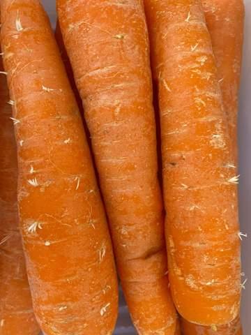 Kann man diese Karotten noch essen?