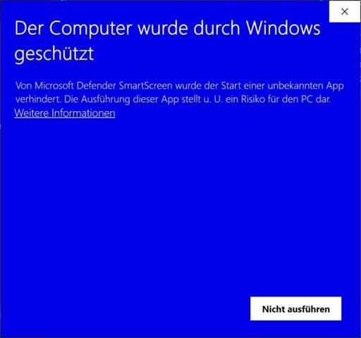 Kann man diesem Windows Programm vertrauen?