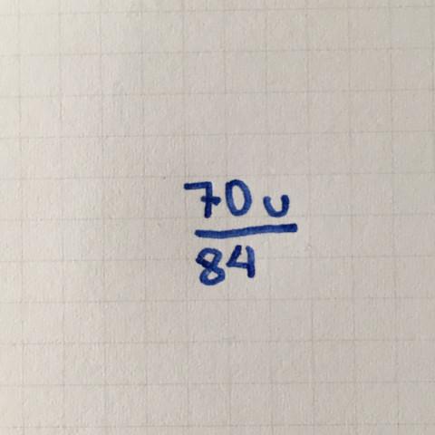 Das hier ist der Bruch - (Mathe, Algebra)