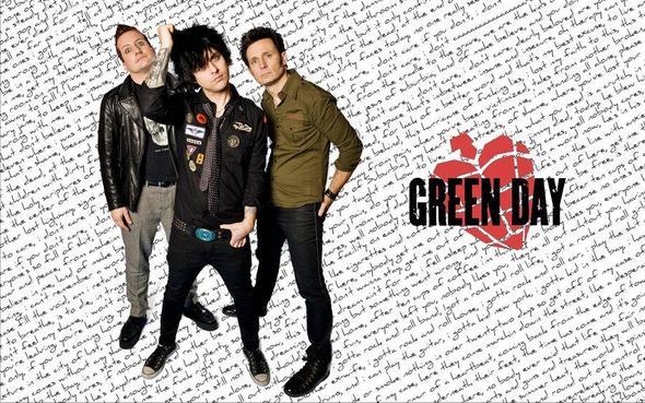 Green Day Wallpaper - (Schrift, Schriftart)