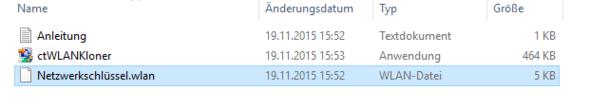 Die Dateien - (Android, WLAN)