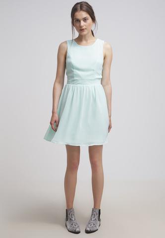blaues Kleid - (Kleid, Abiball)
