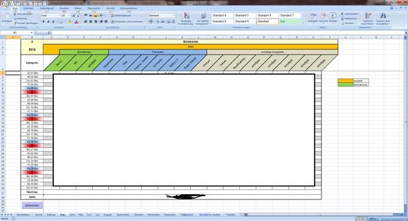 Wie kann man Excel Termine in ein Tabellenblatt eintragen und dann ...