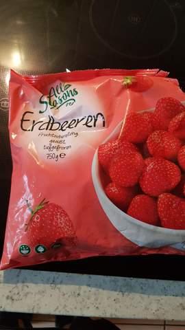 Kann man gefrorene Erdbeeren roh essen?