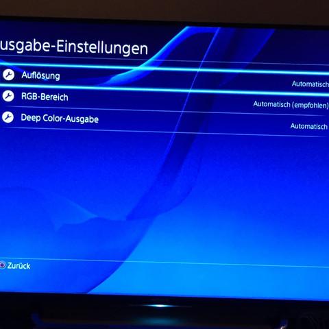 Ps4 Einstellung  - (TV, PS4)