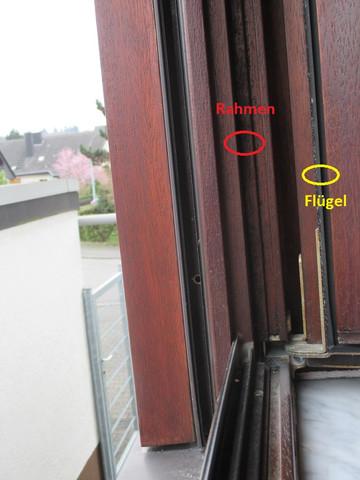 Kann man holzfensterfl gel gegen kunststofffensterfl gel - Fenster scharniere kaputt ...