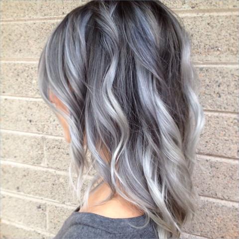 Kann Man In Einem Online Shop Verschiedene Grautone Als Haarfarbe