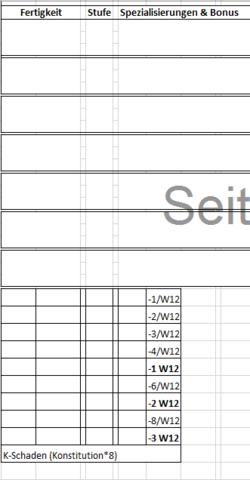 So sieht es aus wenn... - (Excel, Office, Tabelle)