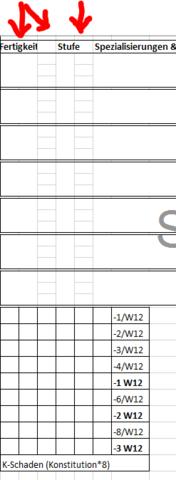 Und so is auch nicht recht - (Excel, Office, Tabelle)