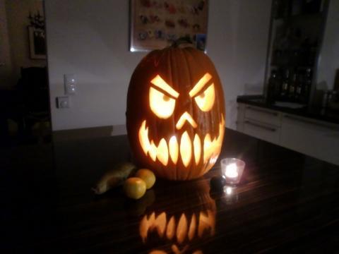 Mr. Curby Kürbis ^^  - (kochen, Rezept, Halloween)