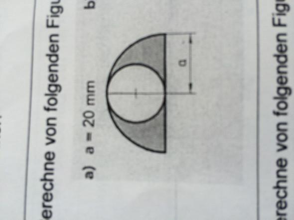 Zusammengesetzten Kreisflächen - (Mathematik, Geometrie)